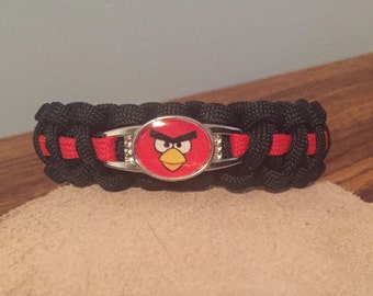 Angry Birds Paracord Bracelet