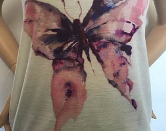 Painted Butterfly Tank Top (TT-192)