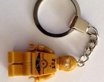 C3PO Minifigure Keychain