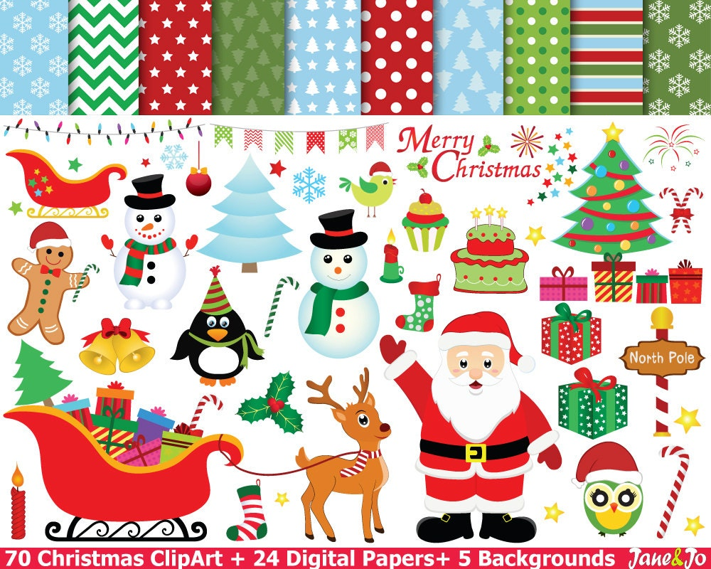 Christmas clipart christmas clip art christmas cliparts for Christmas images paintings