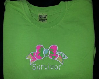 Survivor bow T-Shirt