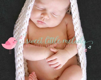 Newborn Cocoon Pod Photo Prop, Baby Pod Egg, Baby Wrap, Crochet Baby Cocoon, Cocoon Photo Prop, Newborn Nest, Baby Bowl Prop, Baby Blanket