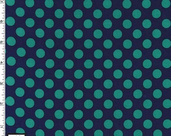 Ta Dot Fabric - Midnight - sold by the 1/2 yard