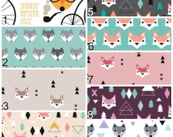 Fox / Woodland Crib Bedding Set