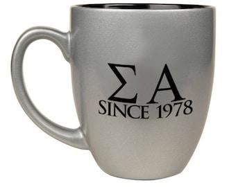 Sigma Alpha Bistro Mug
