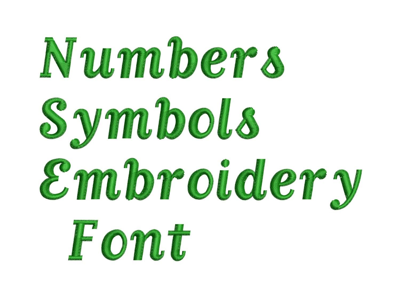 machine embroidery font designs - font letters  numbers  symbols font alphabet