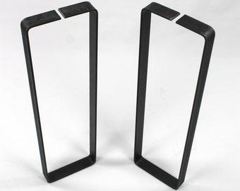 set of 2 sofa table legs steel legs diy furniture flat iron
