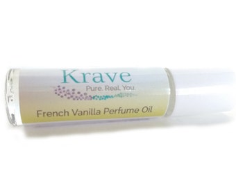 Vanilla Perfume Oil – French Vanilla – Perfume oil - Fragrance – Vanilla