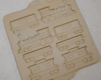 Gingerbread Train Mold for Christmas or Birthday