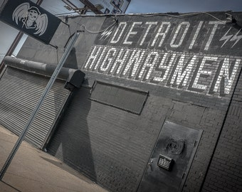 Urban Decay Detroit Highwaymen Street Art Graffiti Photo Print 18 x12