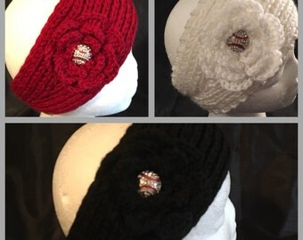 Baseball Bling Ear Warmer/Headband