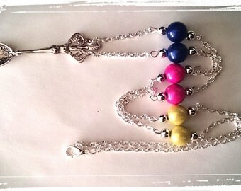 Magical spoon necklace