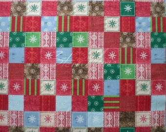Bundle up - sweater patchwork