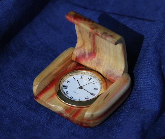 pocket in made wooden box elder item 35