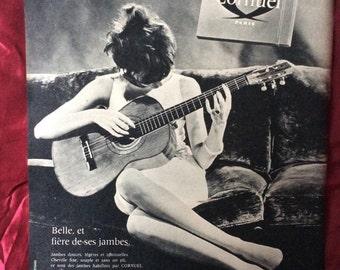 Vintage Original Cornel Tights Advert The Netherlands 1964