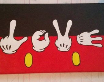 Love Hands Canvas
