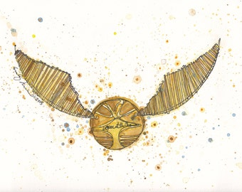 Golden Snitch PRINT