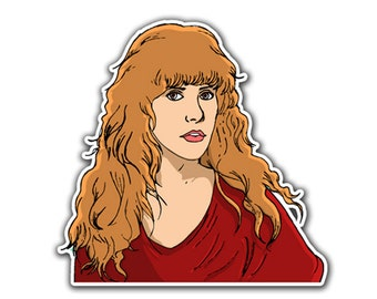 Stevie Nicks Sticker - Gold Dust Witch