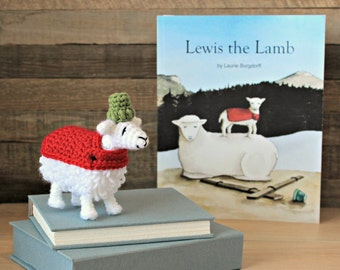 Lewis the Lamb - Stuffed Animal Only