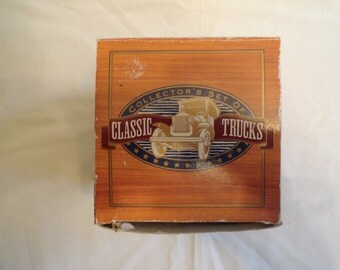 Collector's Set of Classic Trucks in Original Box and Packaging