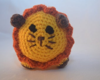 Loveable Lion Amigurumi