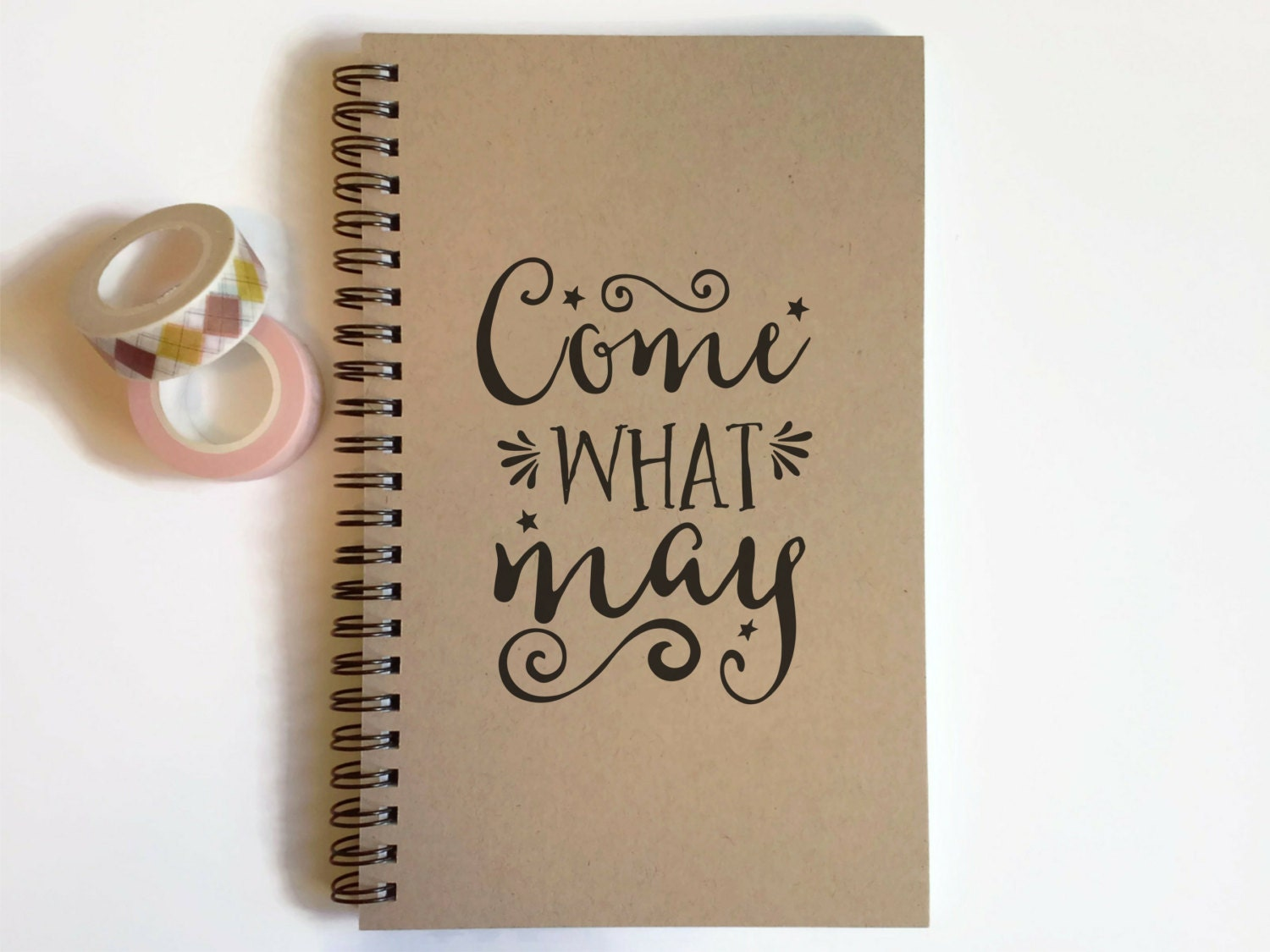 Writing journal spiral notebook cute diary by ...