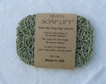 Sage Soap Lift Soap Saver / Soap Dish