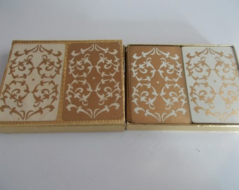 Vintage Double Deck of Playing Cards