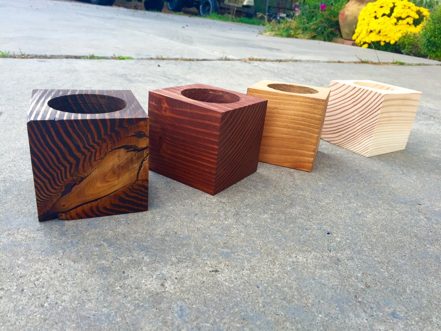 Succulent Large Wood Planters Wood Planter By