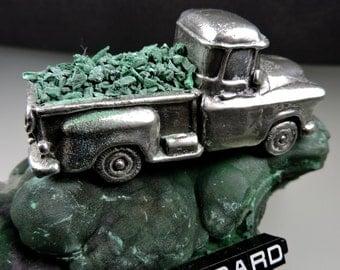 Malachite Crushed Inlay #7, Hand Crushed Malachite Inlay, Designer Malachite, Wood Inlay, Jewelry Inlay, Orgonite, Gift, Thegrindingshed,