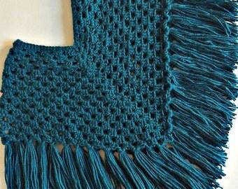 Crochet Fringe Poncho
