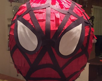 Spiderman inspired piñata