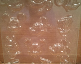 Disney Characters Chocolate Molds - Vintage