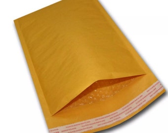 100 6x10 Kraft Bubble Mailers Padded Envelopes Bags