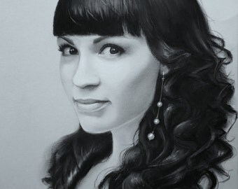 Ирина. Pastel portrait, Custom pastel portrait