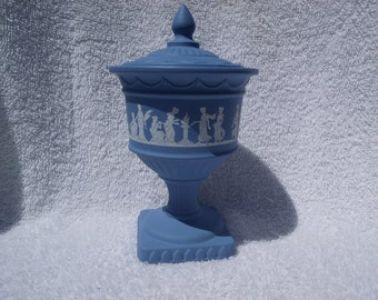 Faux Wedgewood Compote made by Avon