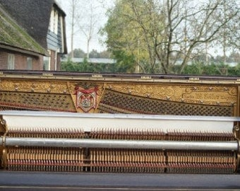 Very nice antique German Ed. Seiler piano from the 19th century.