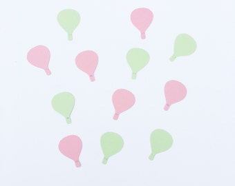 Hot Air Balloons | Hot Air Balloon Confetti | Hot Air Balloon Decoration | Hot Air Balloon Decor ~ Hot Air Balloon Party