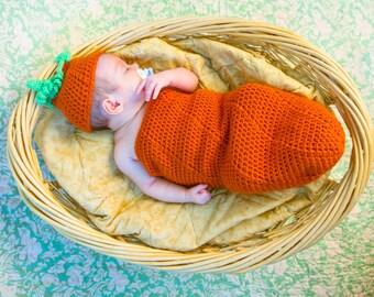 baby pumpkin cozy