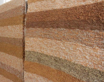 140x200 cm Hand-woven Recycled Ochre Rug. FREE UK DELIVERY