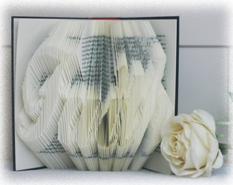 Book Folding Pattern Faith + FREE Tutorial