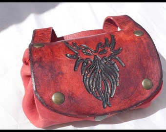 Mini mask purse wallet