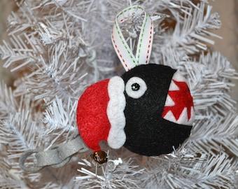 Mario Chomp Chain Ornament Or Keychain