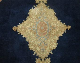 Antique Persian Kerman Rug 10'4''x13'2''
