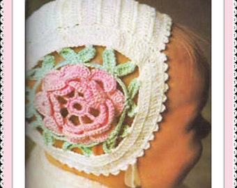 Instant Pdf Download Vintage Crochet Pattern To Make By
