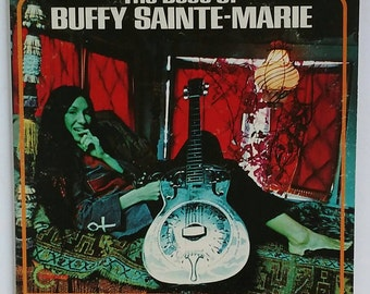 The Best Of Buffy Sainte-Marie, 1970 stereo vinyl 2-record set, VSD-3 and VSD-4