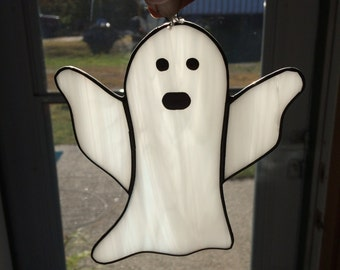 Stained Glass Ghost Handmade in the USA