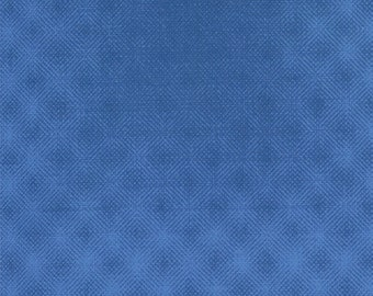 Puzzle Pieces  Prisms (1002-18) Blue - Moda Basic Quilting Fabric by the 1/2 yard