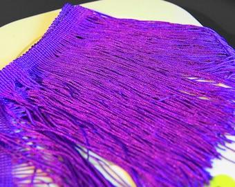 50 cm frame FRINGES violet color sew or paste