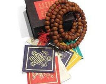 Buddha beads with box